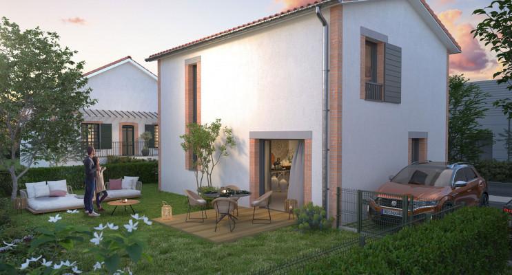 Toulouse programme immobilier neuf « Les Villas Calla