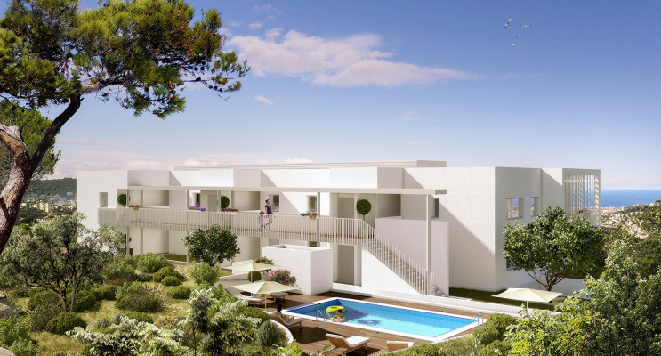 Nice programme immobilier neuf « Les Philippines II » en Loi Pinel