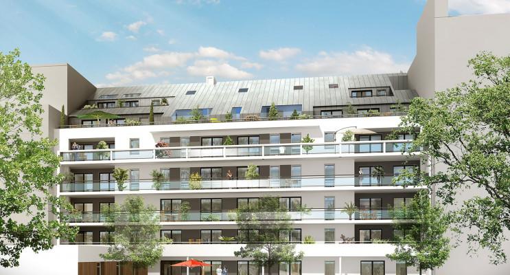 Nantes programme immobilier neuf « Le Cours Félibien » en Loi Pinel